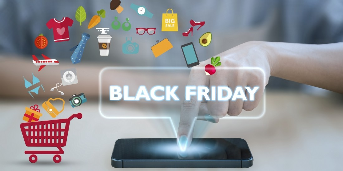 Les chiffres clés du Black Friday sur le Web