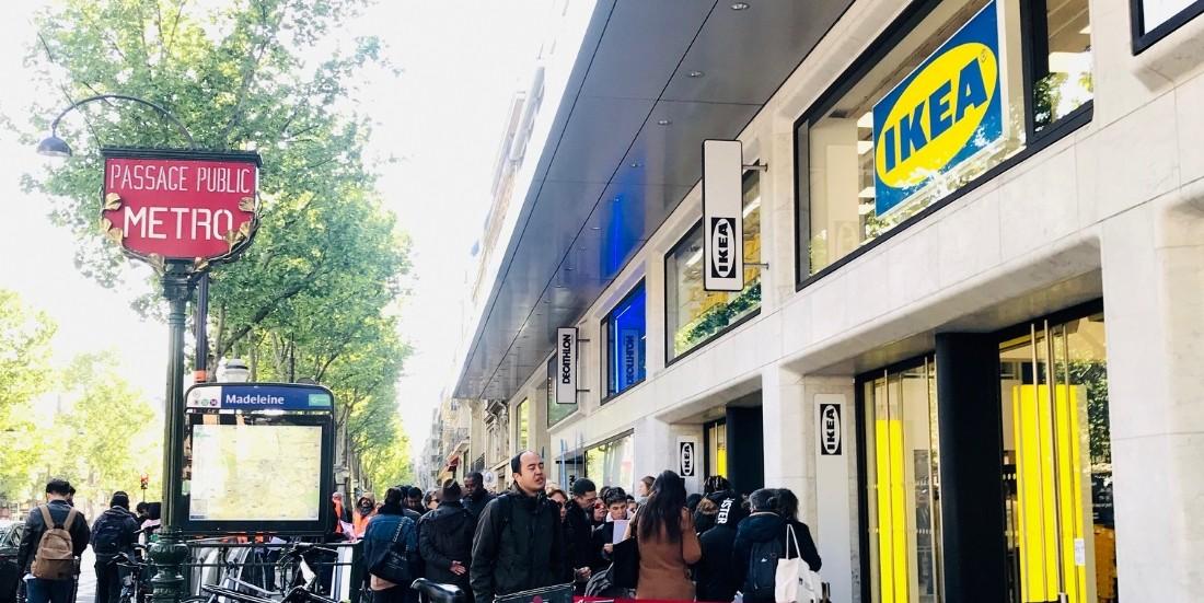 Ikea Madeleine devient Ikea City