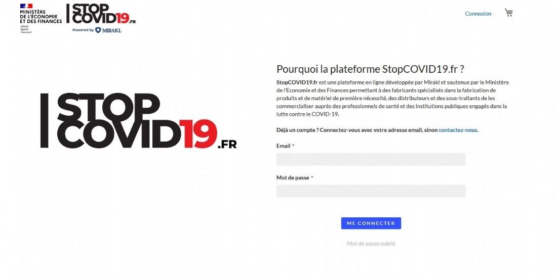 Mirakl lance une plateforme 'Stopcovid19.fr' en partenariat avec le gouvernement