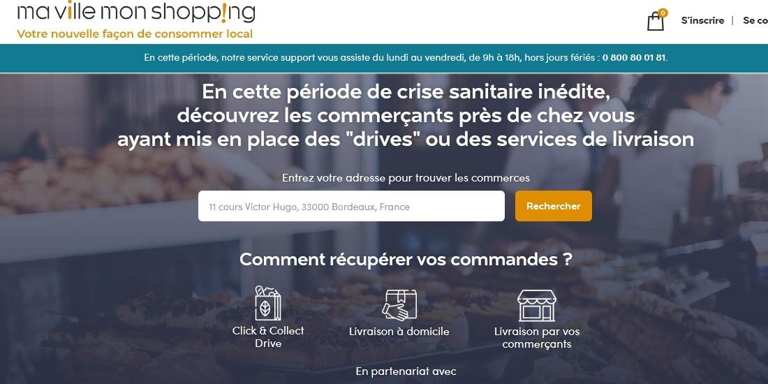 La Poste aide les commerçants avec la plateforme 'Ma ville mon shopping'