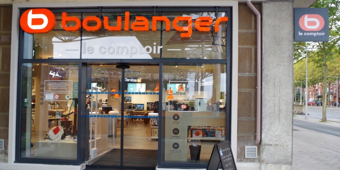 Boulanger rouvre 134 drives parking et piéton sans contact