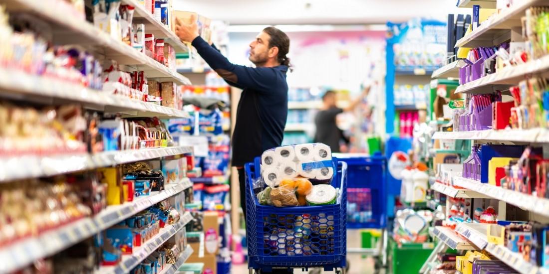La grande consommation repart à la hausse