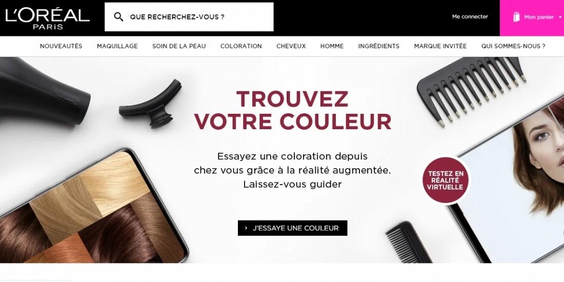 L'e-commerce représente 20% du CA de L'Oréal