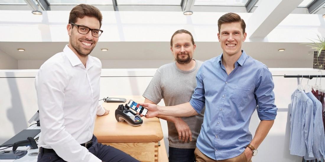 David Handlos, Florian Barth et Björn Goß, les trois fondateurs de Stocard misent sur le paiement mobile pour diversifier les fonctionnalités de leur wallet.