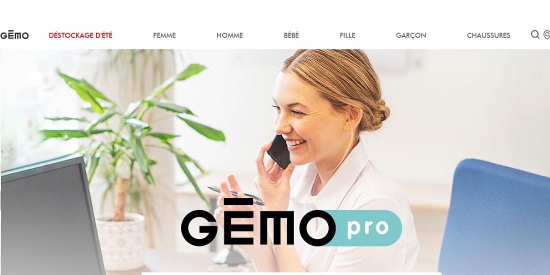 Gémo lance 'Gémo Pro', un service dédié aux professionnels