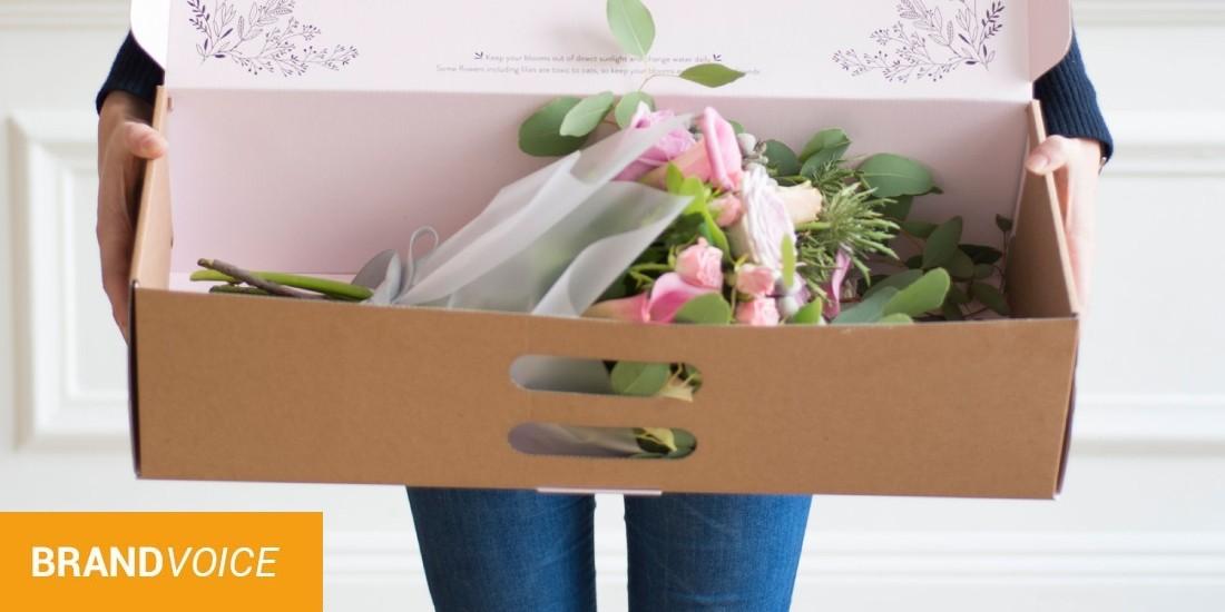 Le leader du marché floral en ligne maintenant en France