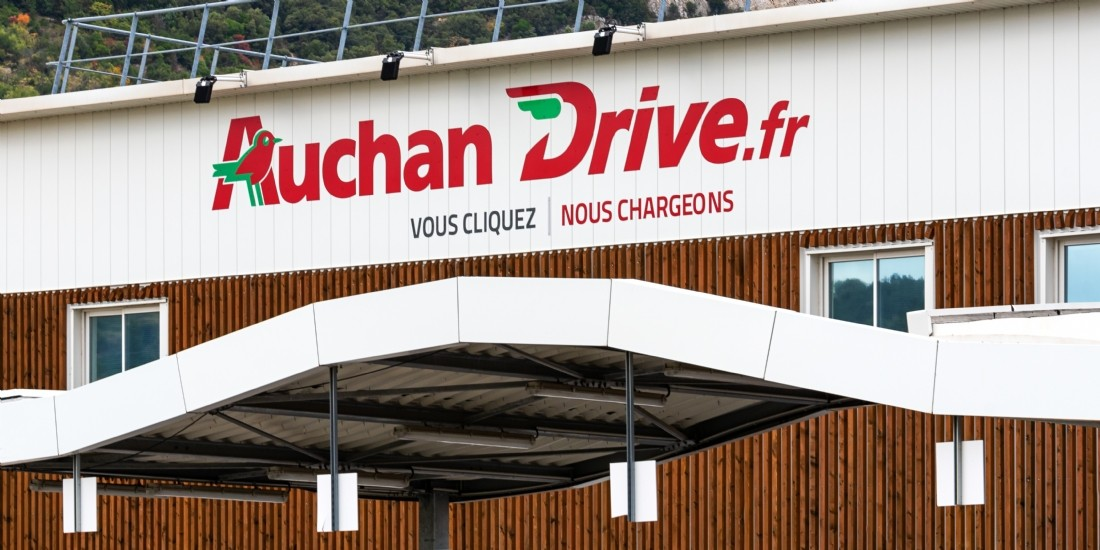 Auchan Retail poursuit son redressement financier porté par l'e-commerce