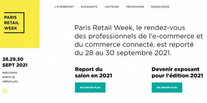 La Paris Retail Week est reportée à 2021
