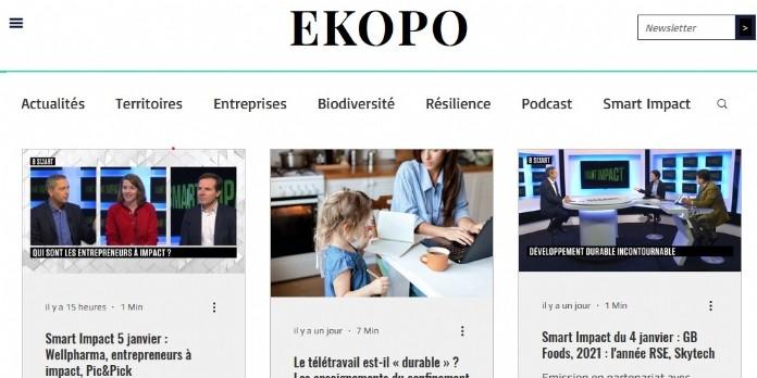 NetMedia Group acquiert EKOPO, site media BtoB dédié à l'économie éthique & responsable