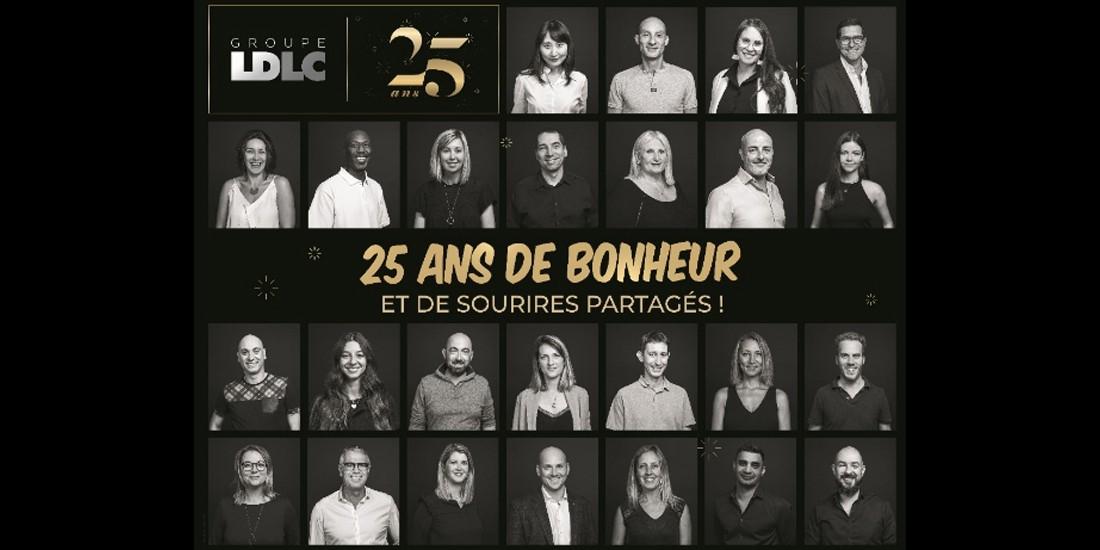 LDLC fête son 25e anniversaire