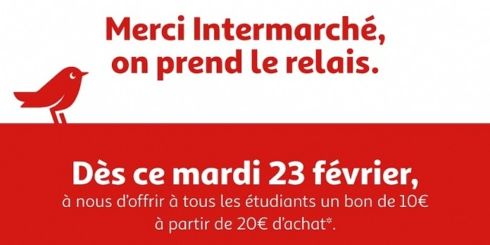 [La Créa du retail] ' Merci Intermarché, on prend le relais '