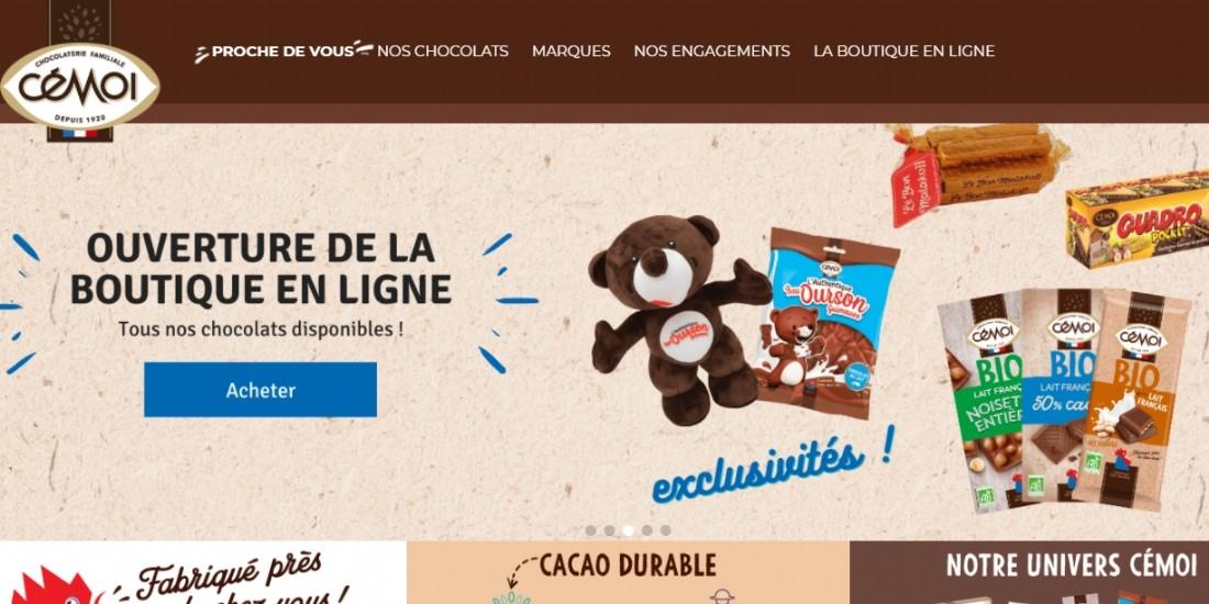 La marque Cémoi lance sa boutique en ligne
