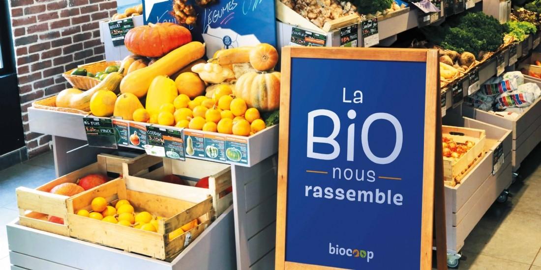 Belle croissance de Biocoop en 2020