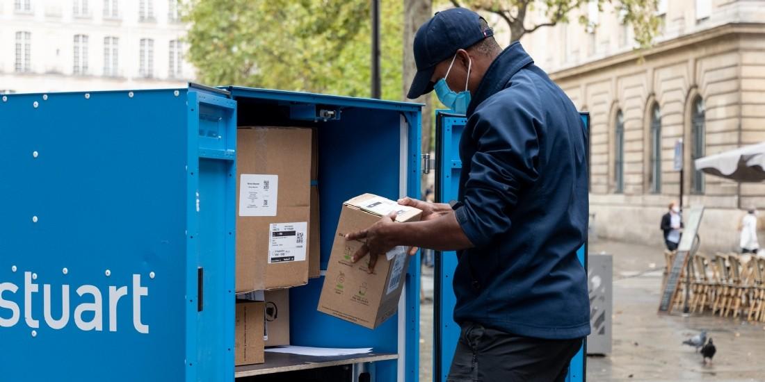 Stuart teste un entrepôt mobile à Paris