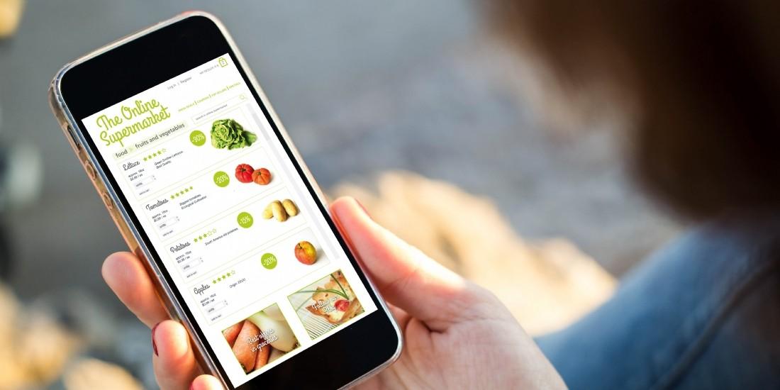 Les ventes en ligne de produits de grande consommation augmentent de 45% dans le monde