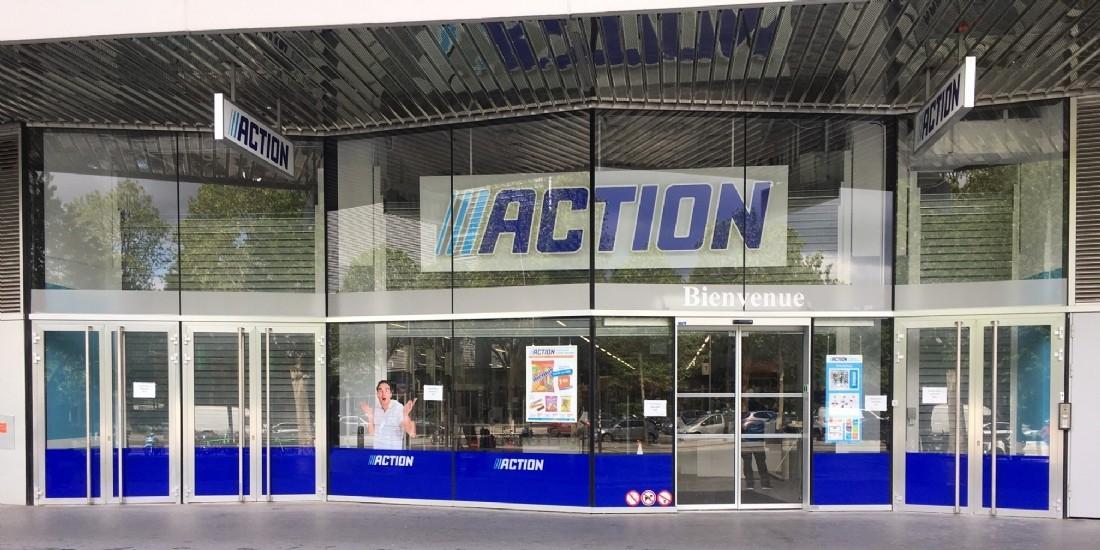 L'enseigne Action s'implante à Paris