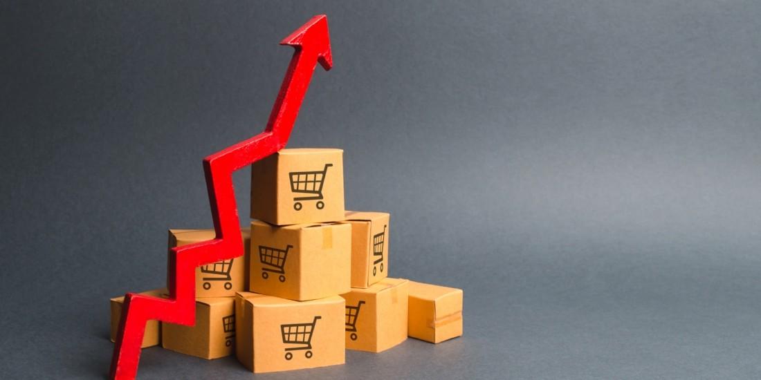 L'e-commerce en hausse de 14,8% au premier trimestre 2021