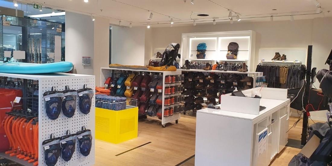 Decathlon inaugure un pop-up store à Boulogne-Billancourt