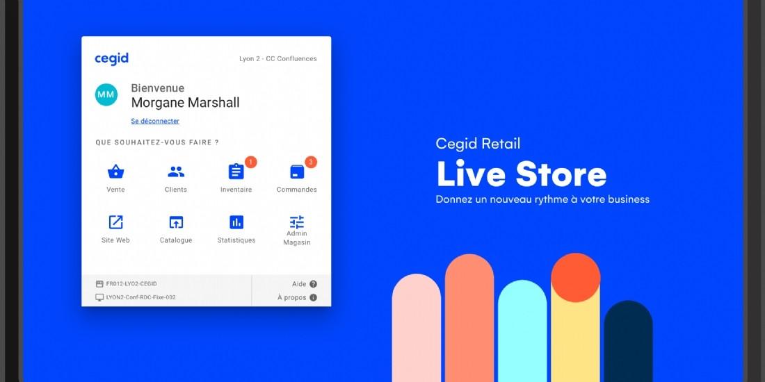 Cegid lance Cegid Retail Live Store