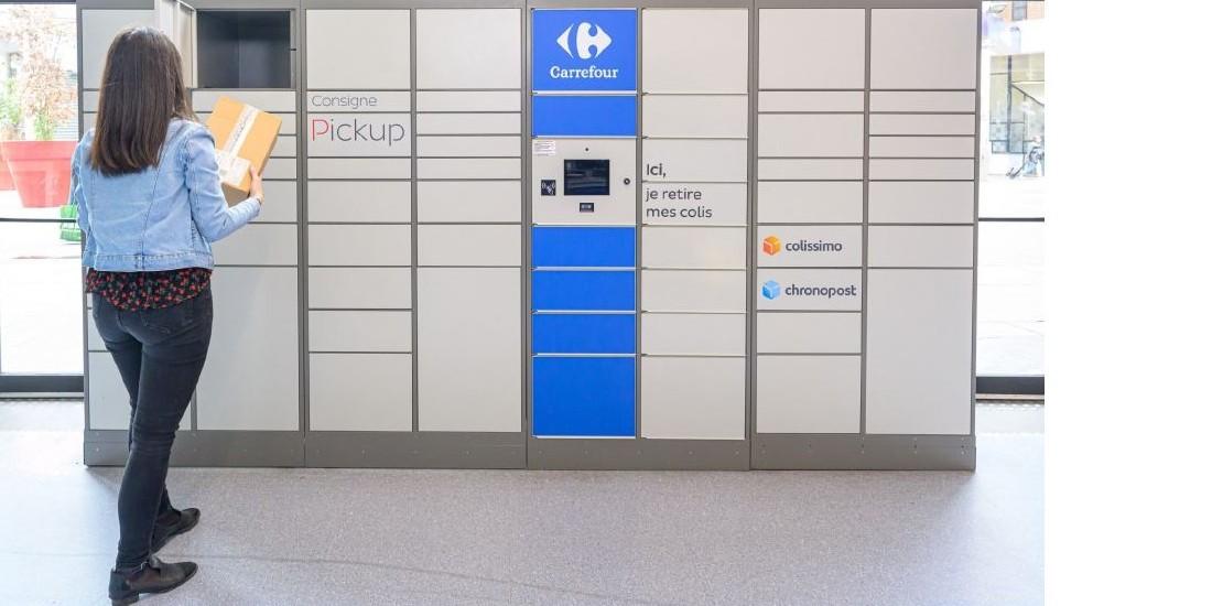 Carrefour déploie 400 consignes automatiques avec Pickup