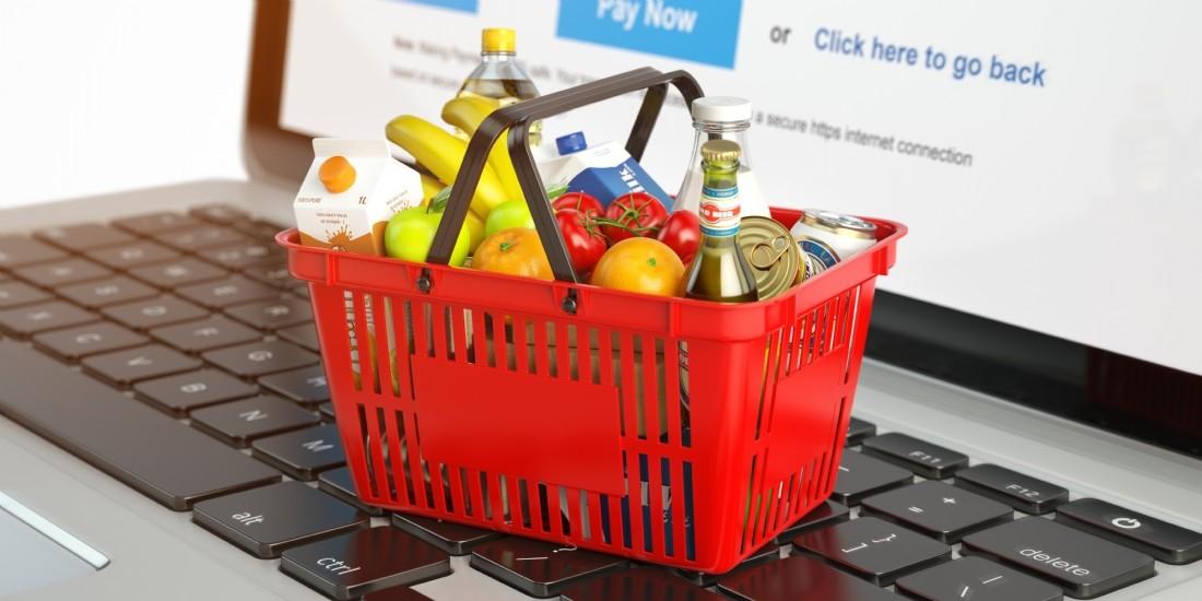 Les ventes en ligne de produits de grande consommation augmentent de 46% en France