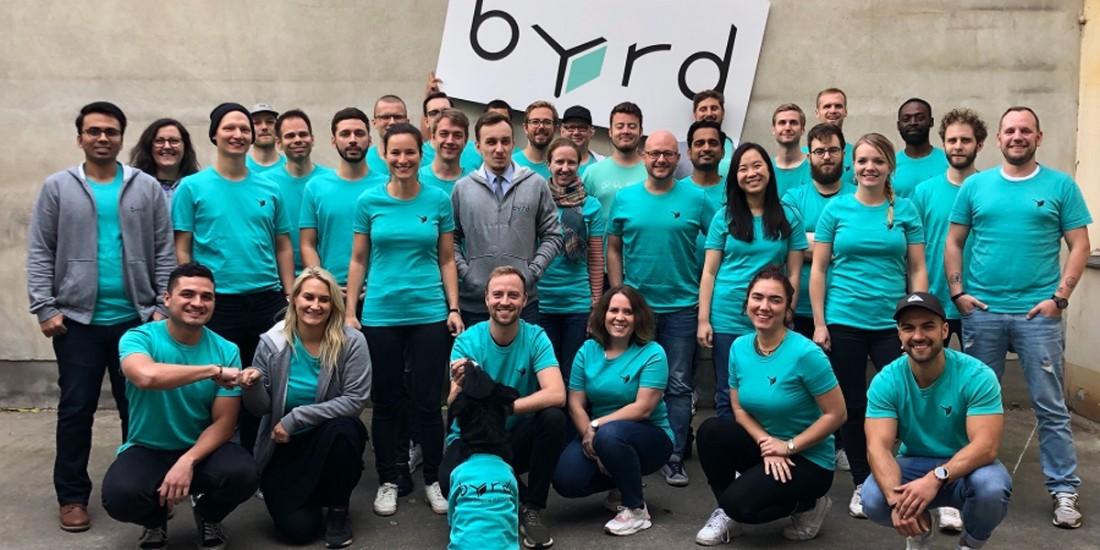 La plateforme d'e-logistique Byrd lève 16 millions d'euros