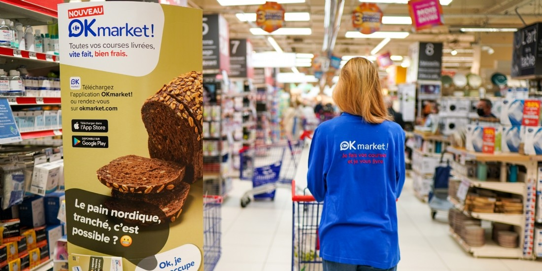 Carrefour lance un service en ligne personnalisé de 'shopper'