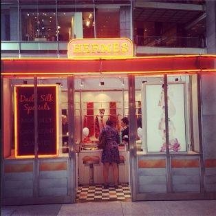 Hermès, le pop up chic | Dossier : Les pop up stores, ces boutiques éphémères qui font fureur