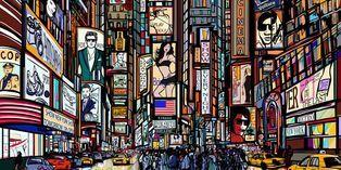 L'affichage urbain demeure un classique de la publicité.